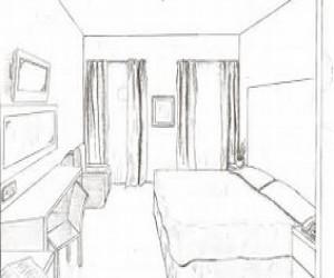 King Bedroom Rendition